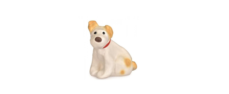 Lampe veilleuse chien eliot blanc h26cm egmont toys normal