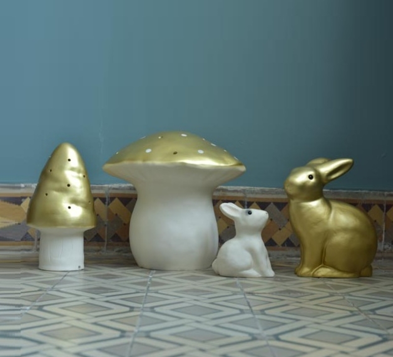 Petit champignon gaetane lannoy egmont toys 360208go luminaire lighting design signed 25788 product