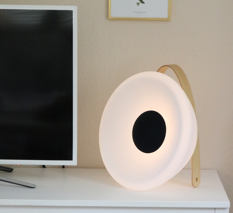 Eclipse speaker  luminaire connecte wireless light  mooni ecs 1190 001  design signed nedgis 69282 product