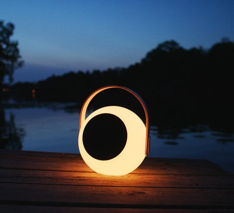 Eye speaker  luminaire connecte wireless light  mooni eys 0970 001  design signed nedgis 69263 product