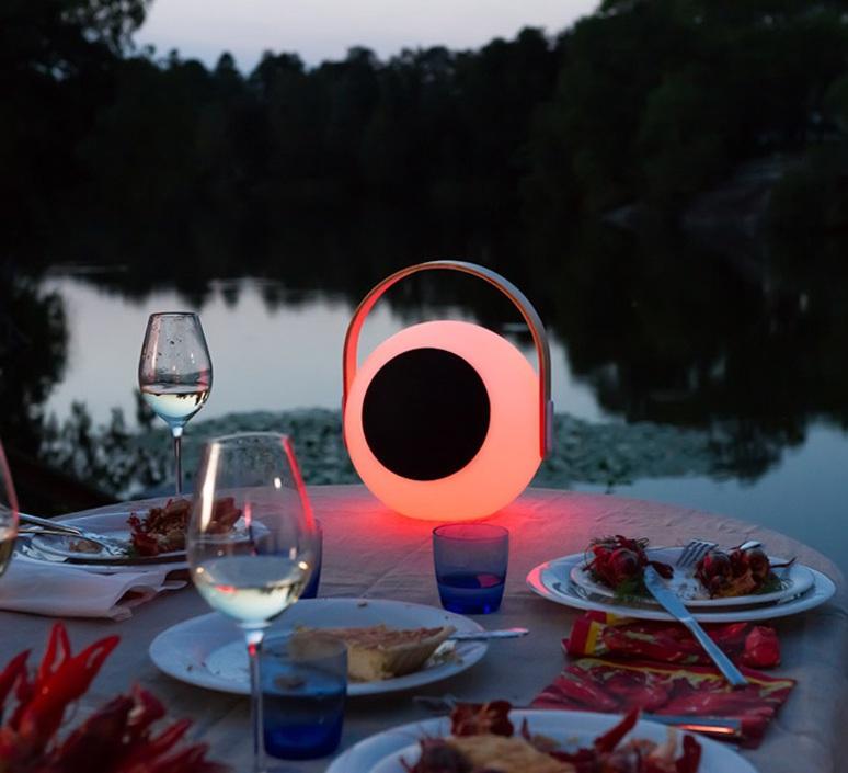 Eye speaker  luminaire connecte wireless light  mooni eys 0970 001  design signed nedgis 69264 product