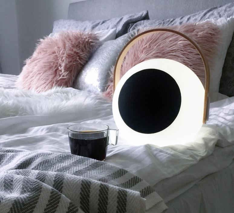 Eye speaker  luminaire connecte wireless light  mooni eys 0970 001  design signed nedgis 69266 product