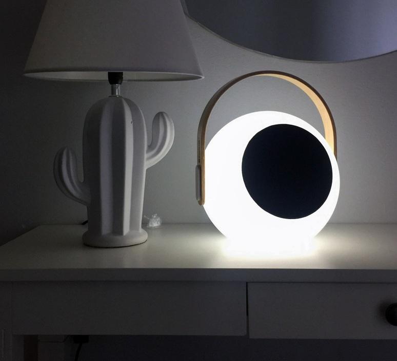 Eye speaker  luminaire connecte wireless light  mooni eys 0970 001  design signed nedgis 69267 product