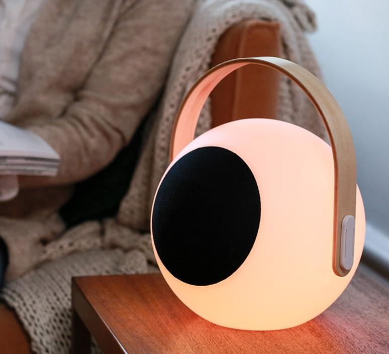 Eye speaker  luminaire connecte wireless light  mooni eys 0970 001  design signed nedgis 69268 product