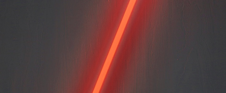 Luminaire tube neon linea red l134 5cm cm seletti normal