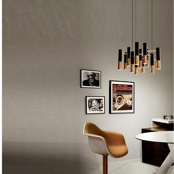 Lustre 13 abats jour ike noir et cuivre h36cm o60cm delightfull normal