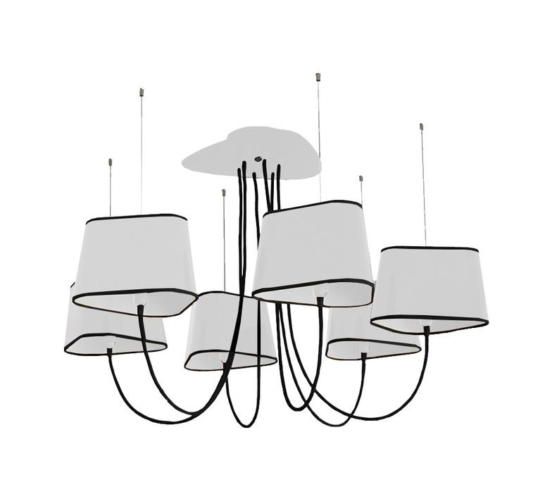 Grand nuage herve langlais designheure lu6gnbbn luminaire lighting design signed 19115 product