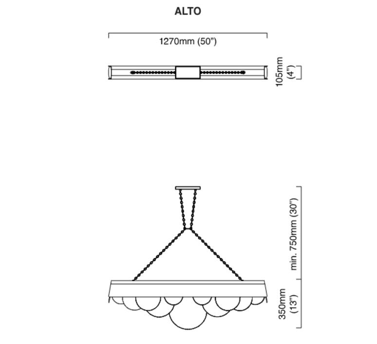 Alto chris et clare turner lustre chandelier  cto lighting cto 01 015 0001  design signed 47894 product