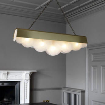 Lustre alto laiton l127cm h35cm cto lighting normal