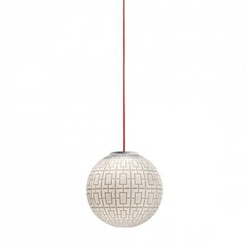 Lustre arabesque blanc o30cm h30cm mm lampadari normal