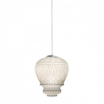 Lustre arabesque blanc o30cm h40cm mm lampadari normal