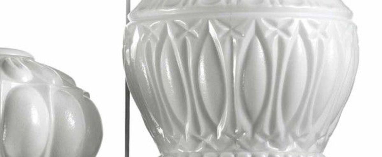 Lustre arabesque blanc o60cm h180cm mm lampadari normal
