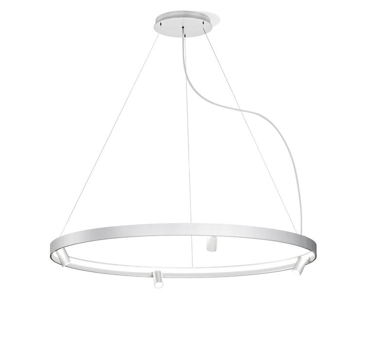 Arena 4 studio tecnico panzeri lustre chandelier  panzeri l07401 150 0518  design signed nedgis 93074 product