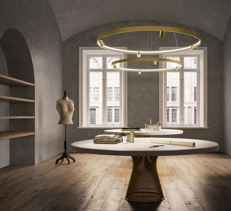 Arena 4 studio tecnico panzeri lustre chandelier  panzeri l07419 150 0518  design signed nedgis 93070 product