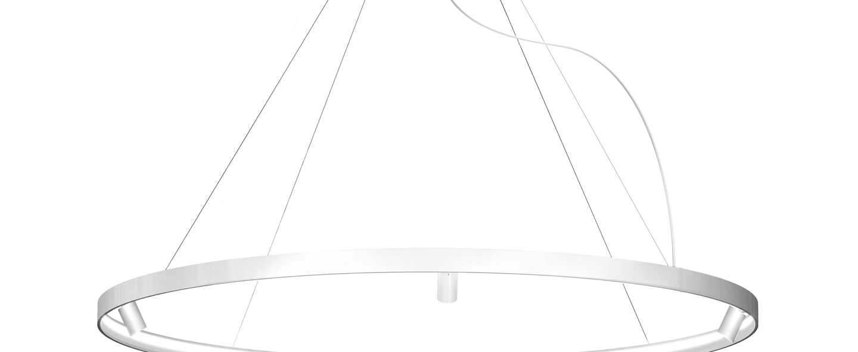 Lustre arena 5 blanc led 2700k 12618lm o200cm h5 3cm panzeri normal