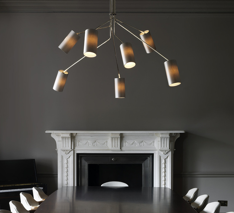 Array cotton  lustre chandelier  cto lighting cto 01 035 0003  design signed 53867 product