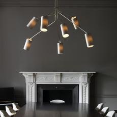 Array cotton  lustre chandelier  cto lighting cto 01 035 0003  design signed 53867 thumb