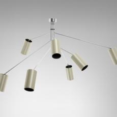 Array cotton  lustre chandelier  cto lighting cto 01 035 0003  design signed 53868 thumb