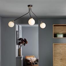 Array opal  lustre chandelier  cto lighting cto 01 035 0101  design signed 56199 thumb