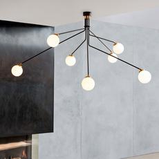 Array opal  lustre chandelier  cto lighting cto 01 035 0101  design signed 53871 thumb