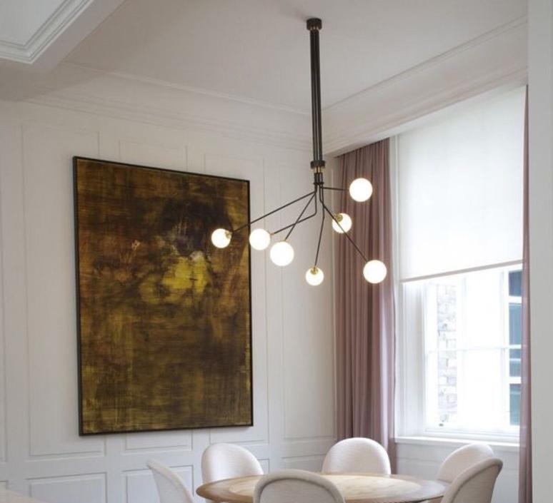 Array opal  lustre chandelier  cto lighting cto 01 035 0101  design signed 56203 product