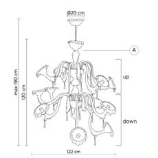 Au revoir a matteo ugolini lustre chandelier  karman aurevoir configurationa  design signed 37675 thumb