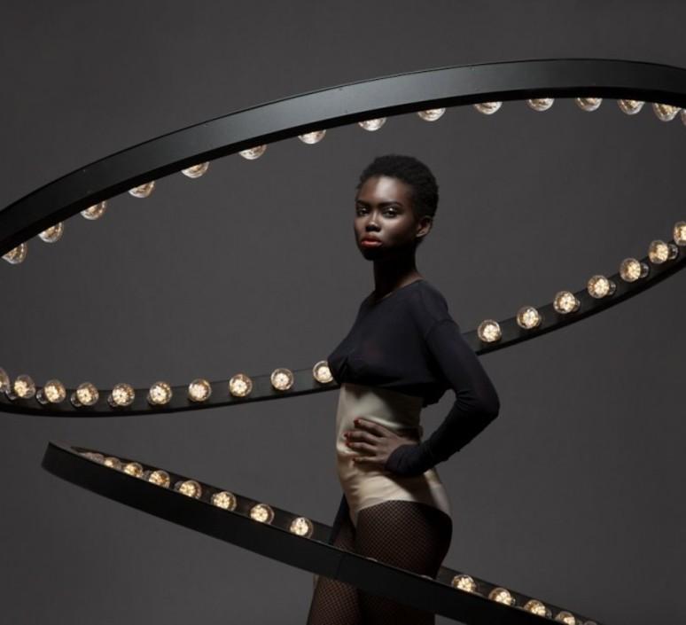 Aura medium jasper van grootel jspr aura medium black luminaire lighting design signed 11996 product