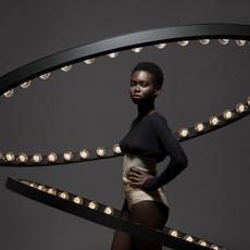 Aura medium jasper van grootel jspr aura medium black luminaire lighting design signed 11996 thumb