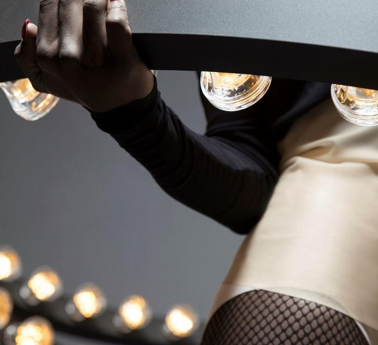 Aura medium jasper van grootel jspr aura medium black luminaire lighting design signed 11997 product