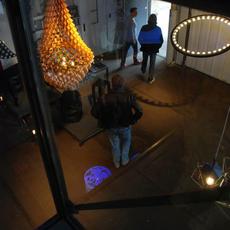 Aura medium jasper van grootel jspr aura medium black luminaire lighting design signed 12001 thumb