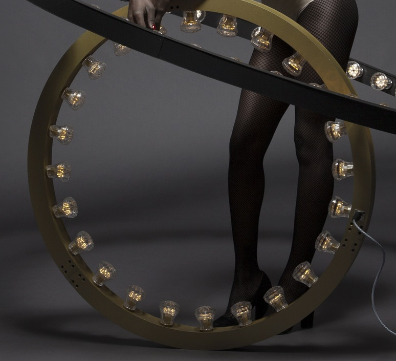Aura small jasper van grootel jspr aura small gold luminaire lighting design signed 11985 product