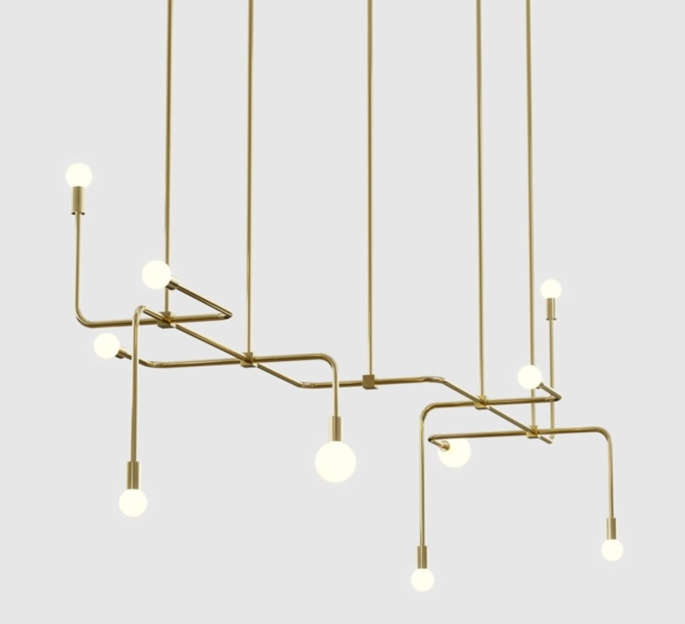 Beaubien 06 studio lambert fils lustre chandelier  lambert fils bea06brbr  design signed nedgis 114866 product