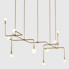 Beaubien 06 studio lambert fils lustre chandelier  lambert fils bea06brbr  design signed nedgis 114866 thumb