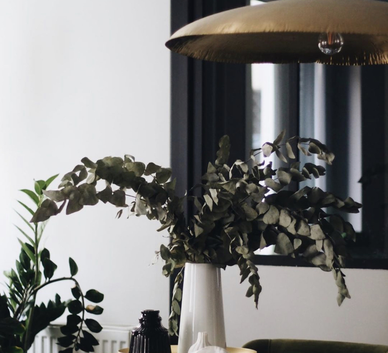 Lustre brass 95 laiton l80cm p70cm gervasoni 77434 product