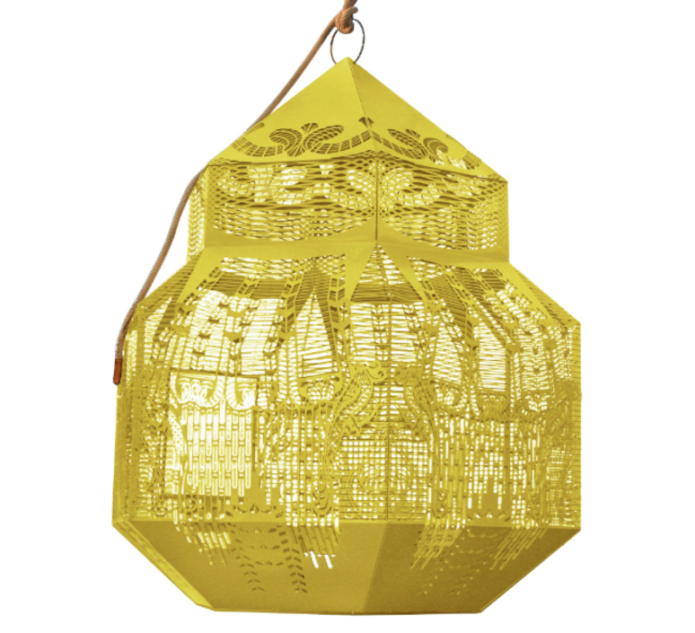Caged beauty grietje schepers jspr caged beauty 80 lemon luminaire lighting design signed 12125 product