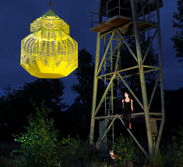 Caged beauty grietje schepers jspr caged beauty 80 lemon luminaire lighting design signed 12126 product