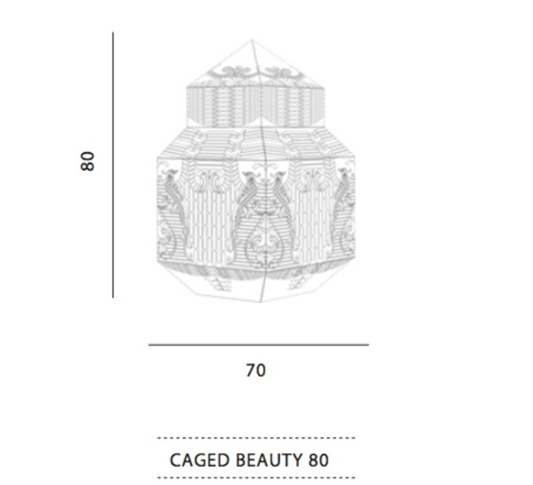 Caged beauty grietje schepers jspr caged beauty 80 lemon luminaire lighting design signed 12129 product