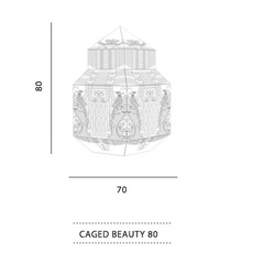 Caged beauty grietje schepers jspr caged beauty 80 lemon luminaire lighting design signed 12129 thumb