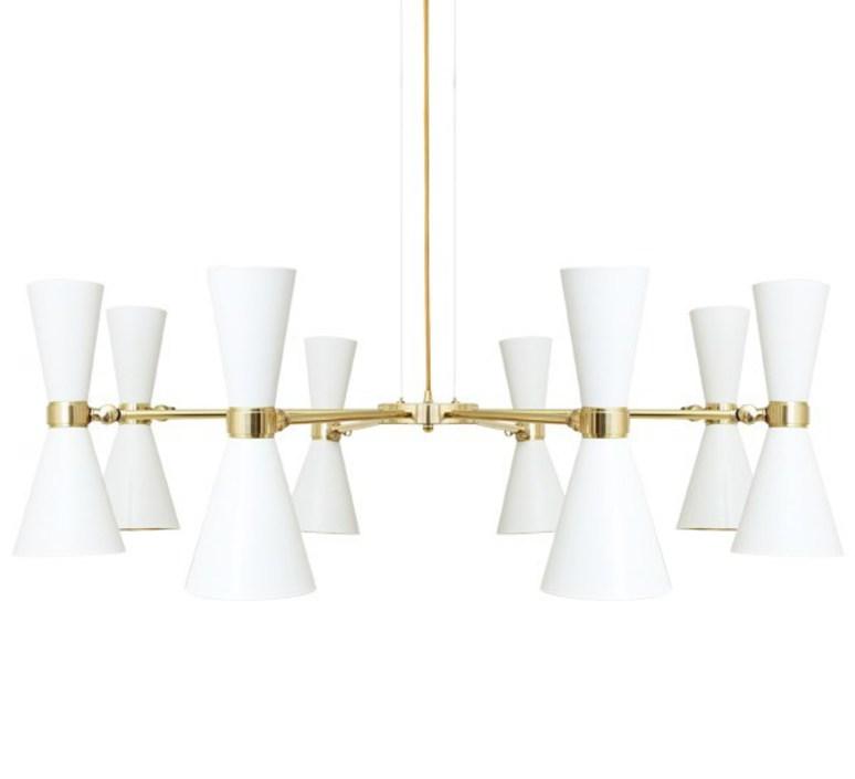 Cairo 8 bras studio mullan lighting lustre chandelier  mullan cairo 8 bras mlf187pcwte  design signed nedgis 67521 product