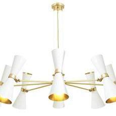 Cairo 8 bras studio mullan lighting lustre chandelier  mullan cairo 8 bras mlf187pcwte  design signed nedgis 67522 thumb