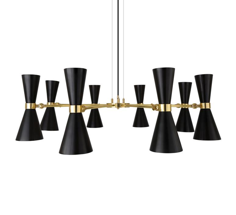 Cairo 8 bras studio mullan lighting lustre chandelier  mullan cairo 8 bras mlf187pcmbk  design signed nedgis 67517 product