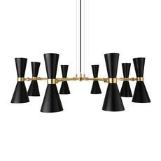 Cairo 8 bras studio mullan lighting lustre chandelier  mullan cairo 8 bras mlf187pcmbk  design signed nedgis 67517 thumb