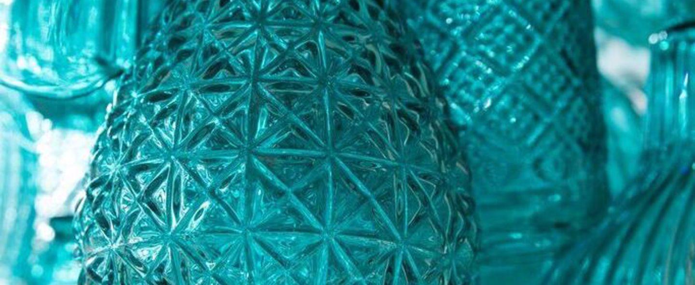 Lustre ceraunavolta bleu o60cm h25cm karman normal