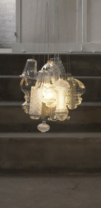 Lustre ceraunavolta transparent o45cm karman normal