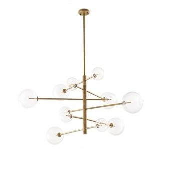 Lustre chandelier argento l laiton l176cm h93 5cm eichholtz normal