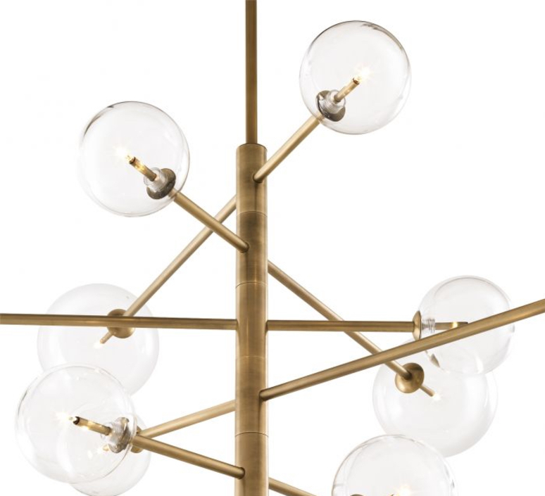 Chandelier argento l  lustre chandelier  eichholtz 112076  design signed nedgis 73883 product