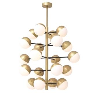 Lustre chandelier cona l laiton o94cm h90cm eichholtz normal