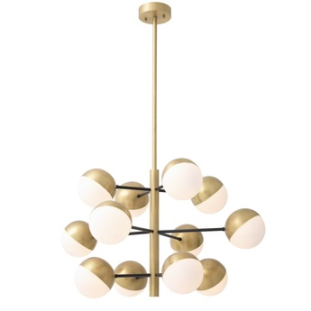 Lustre chandelier cona s laiton o94cm h55cm eichholtz normal