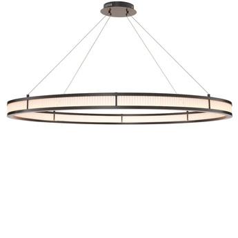 Lustre chandelier damien xl bronze metallique o139cm h8cm eichholtz normal