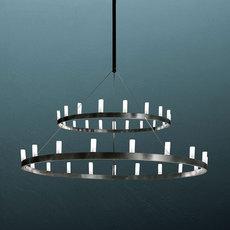 Chandelier double david chipperfield lustre chandelier  fontana arte chandelier noir 5491 22n  design signed nedgis 65956 thumb